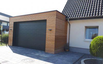 Neubau einer Garage